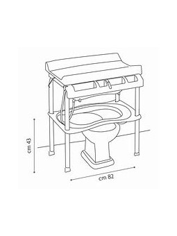 Cubeta ergonómica doble posición: acostado y sentado. Plegado supecompacto. 4 ruedas